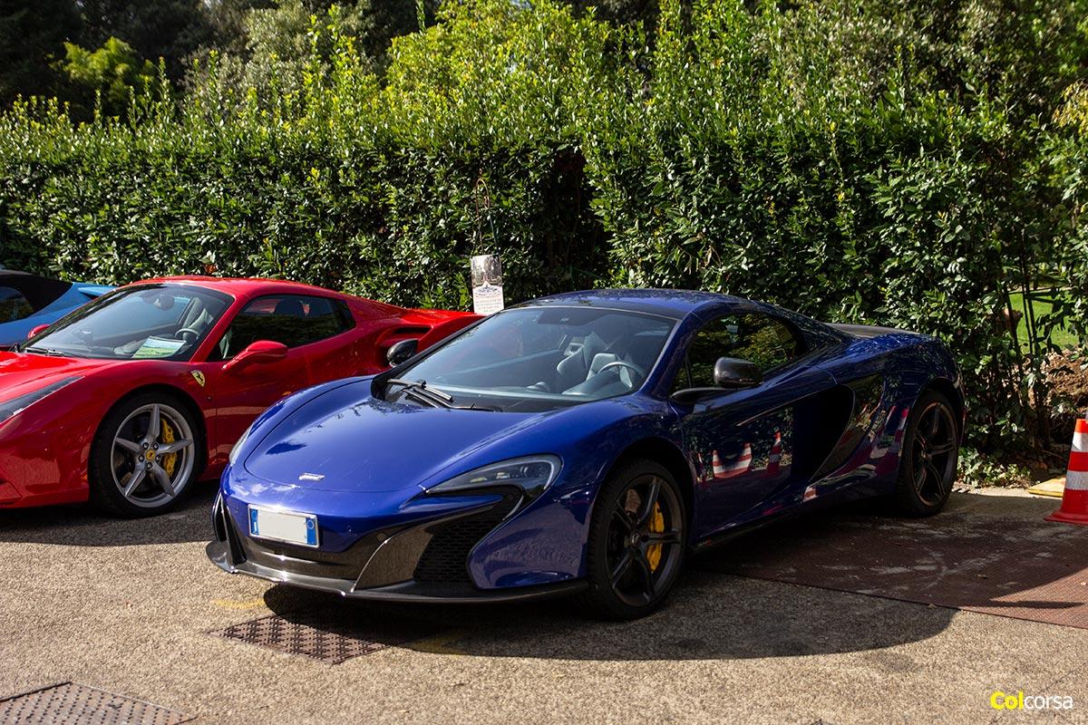 Tuscany Supercar Tour - McLaren 650S Spider