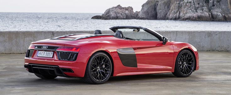 Audi R8 V10 Convertible