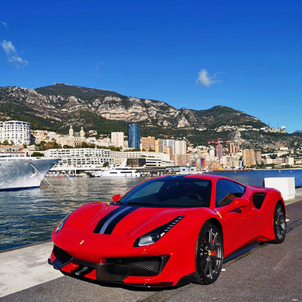 Rent Ferrari 488 Pista In Europe