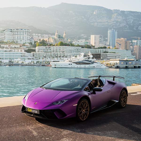 Rent Lamborghini Huracan Performante Spyder In Europe