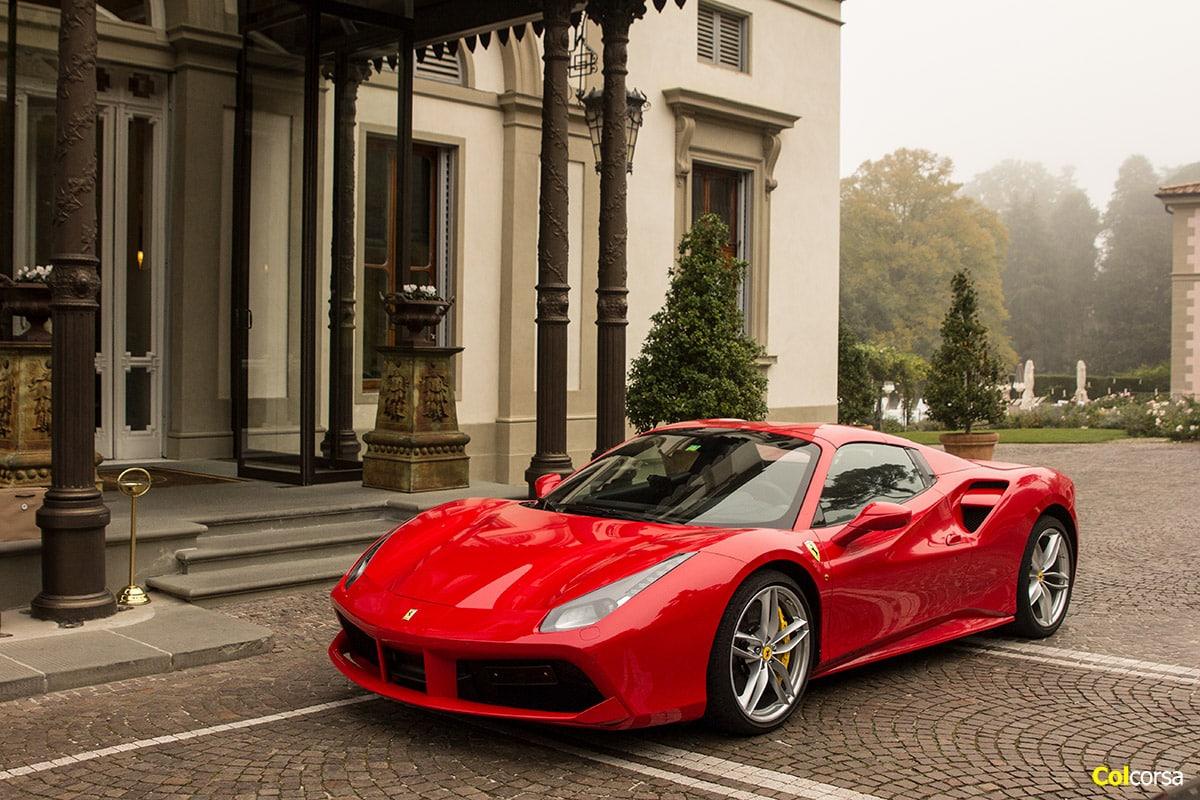 Ferrari Tour In Tuscany Experience A Red Ferrari In Italy Colcorsa