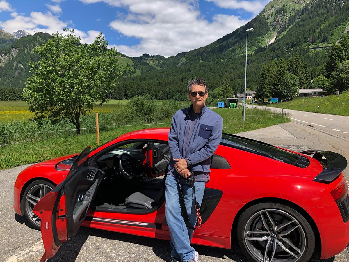Swiss Alps Driving Holiday - Audi R8 V10 Plus Coupe