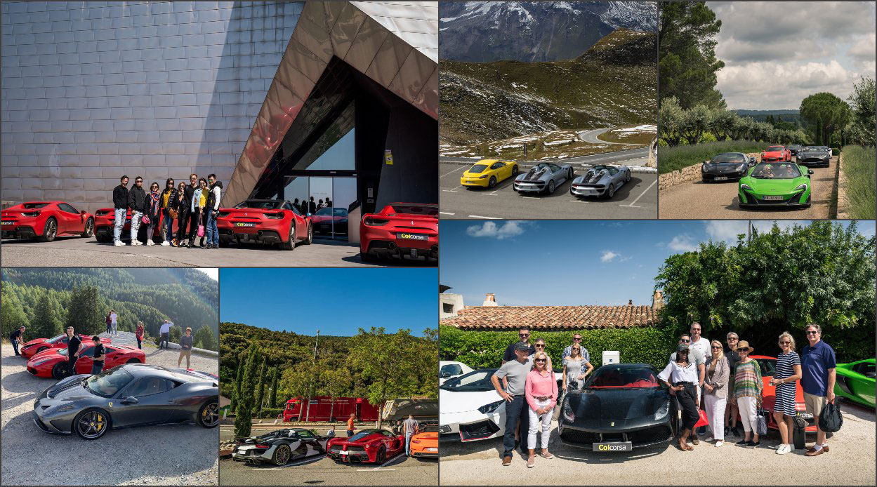 Supercar driving experience Europe - Supercar driving holidays Europe