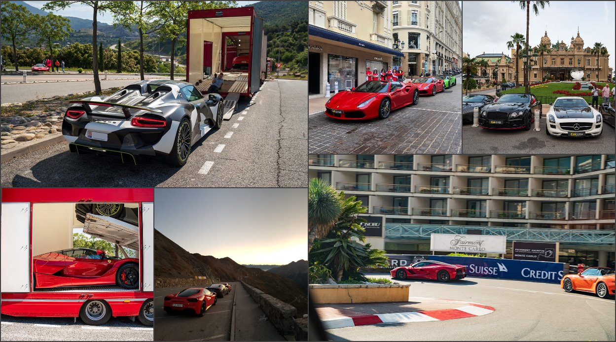 Hypercar / supercar bespoke driving group tours in Europe - Monaco