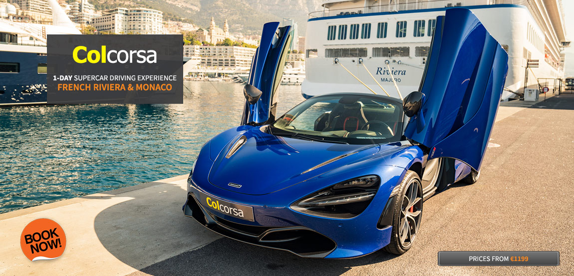 Supercar Hire France - Luxury car rental French Riviera