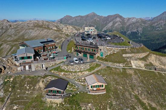 Edelweisshütte - Grossglockner High Alpine Road
