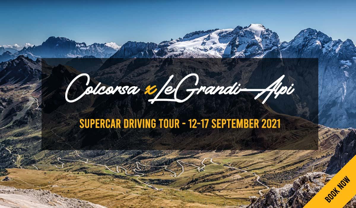 Stelvio Pass Supercar Driving Experience - Colcorsa x Le Grandi Alpi 2021