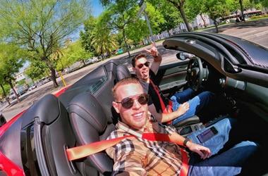 Lamborghini Huracan Performante Spyder birthday drive