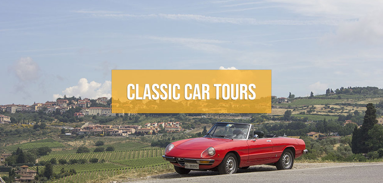 Classic car tours in Europe