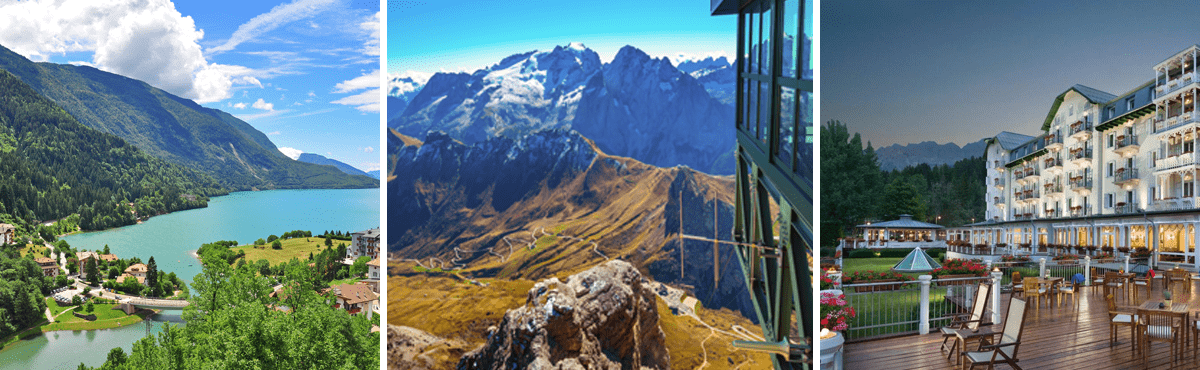 Dolomites supercar tour