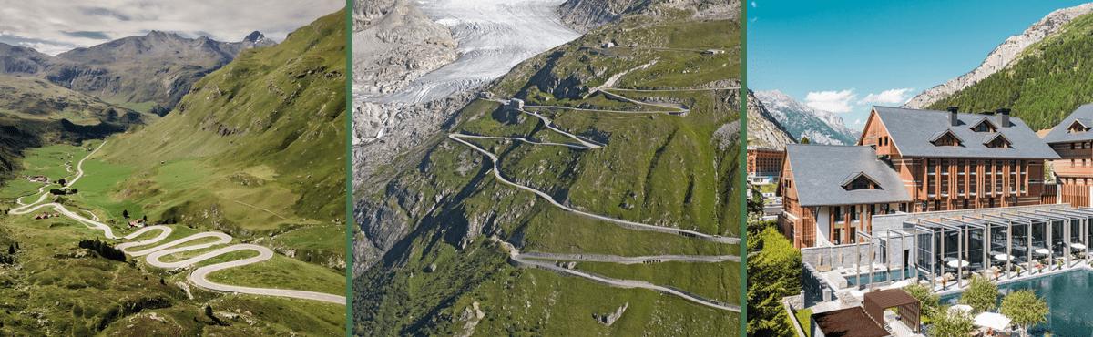 Driving holiday Andermatt
