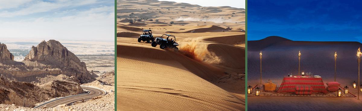Dubai supercar tour - Jebel Hafeet