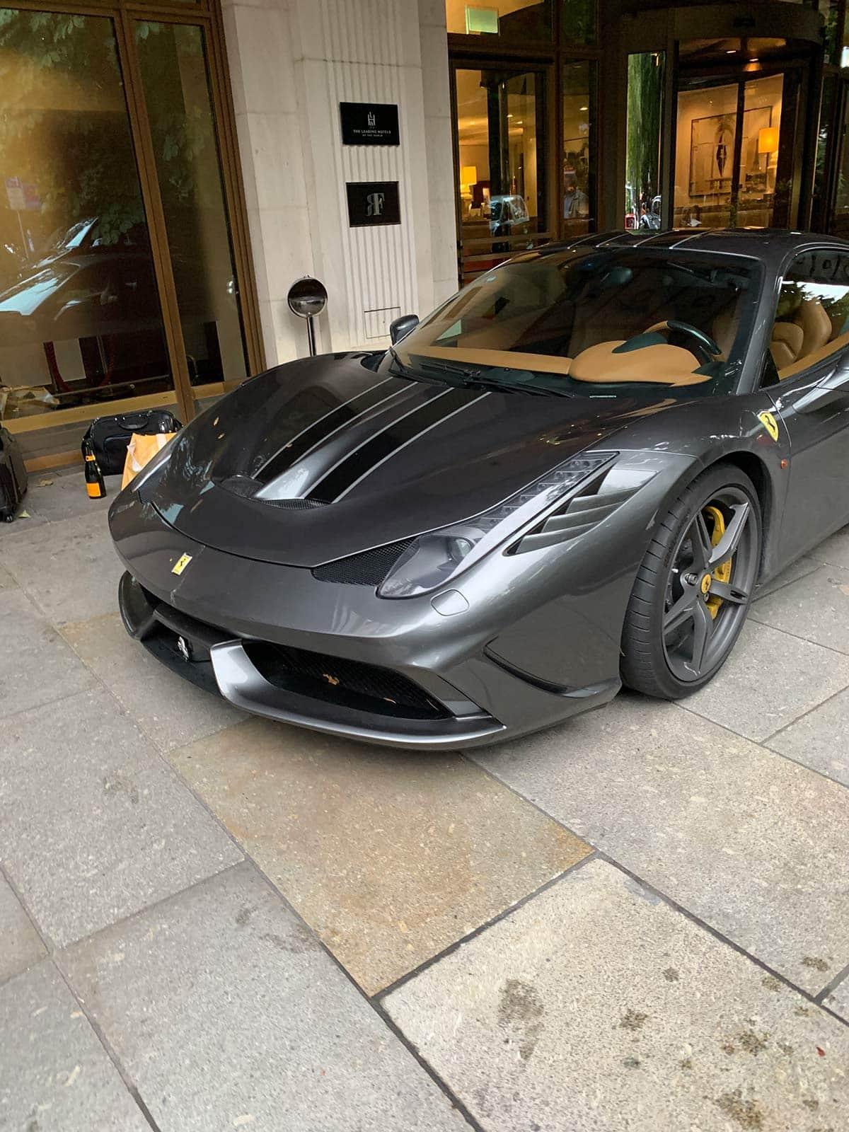 Ferrari 458 Speciale at The Charles Hotel in Munich