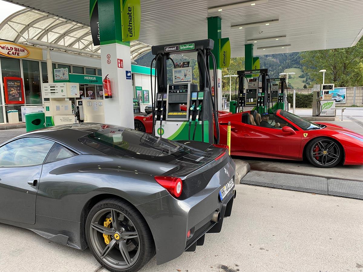 Ferrari 458 Speciale and Ferrari 488 Spider