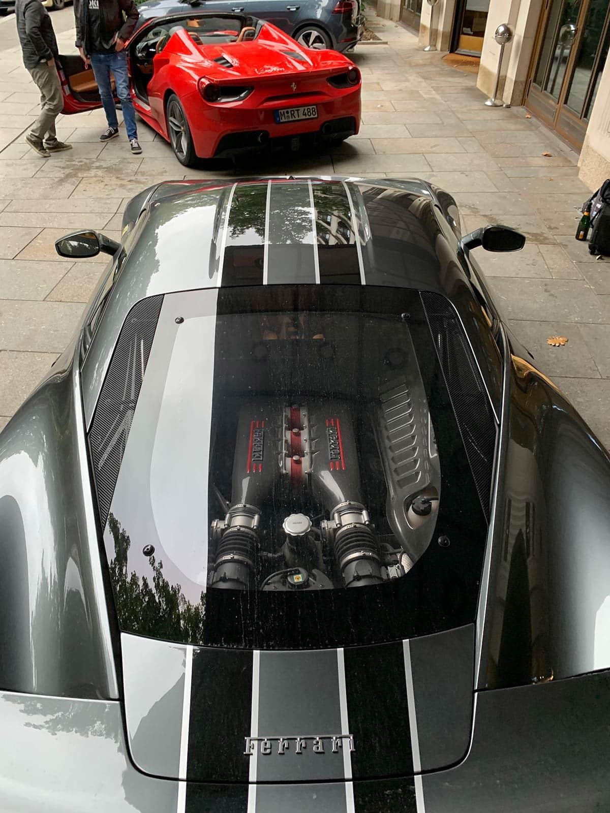 Ferrari 458 Speciale engine