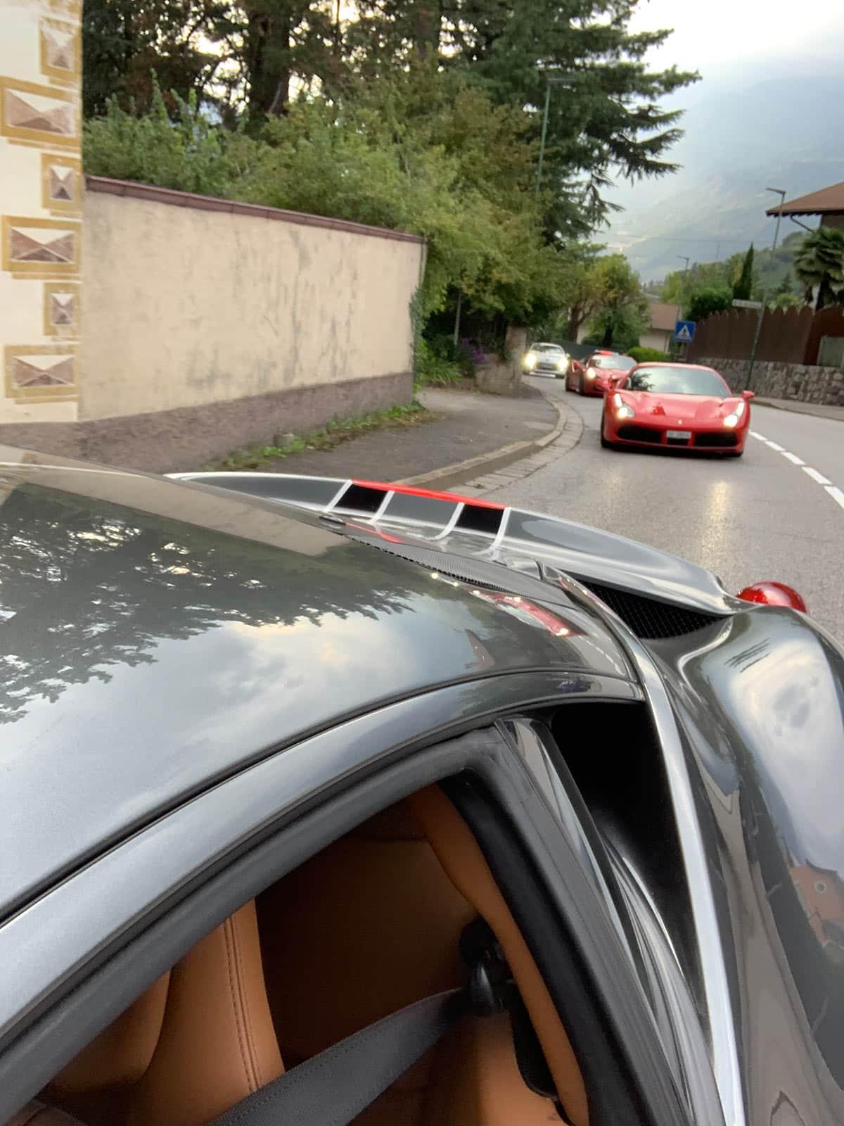 Ferrari 458 Speciale tour