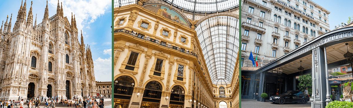 Driving holiday Italy - Milan
