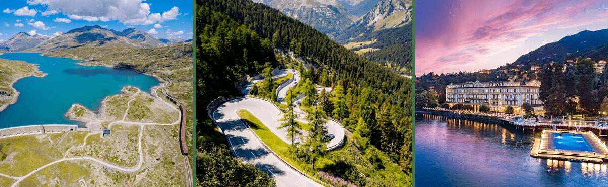 Italy supercar driving holiday Alps