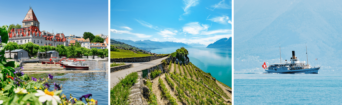 Lavaux driving tour - Lake Geneva