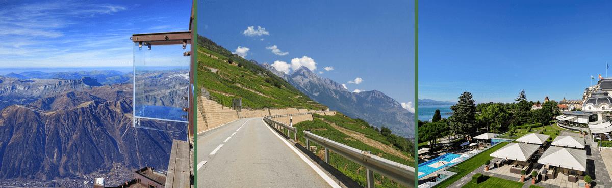 Lavaux driving tour - Lausanne