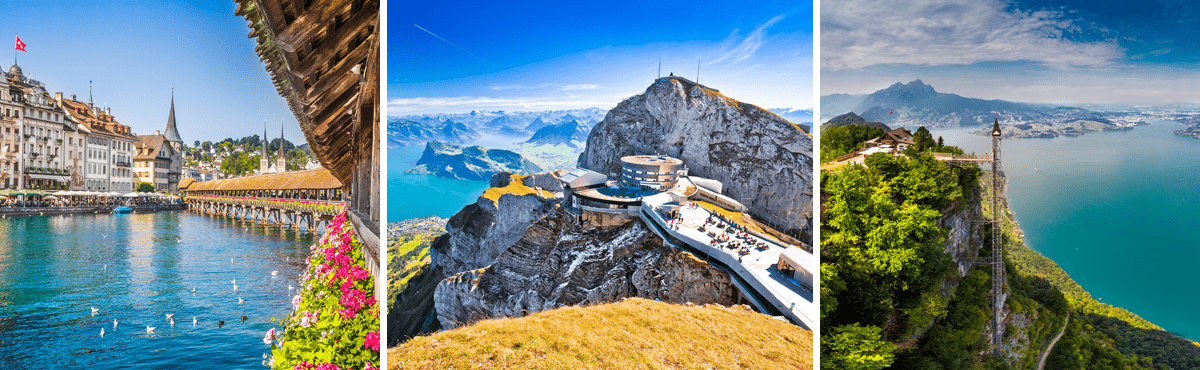 Luxury driving holiday - Lake Lucerne