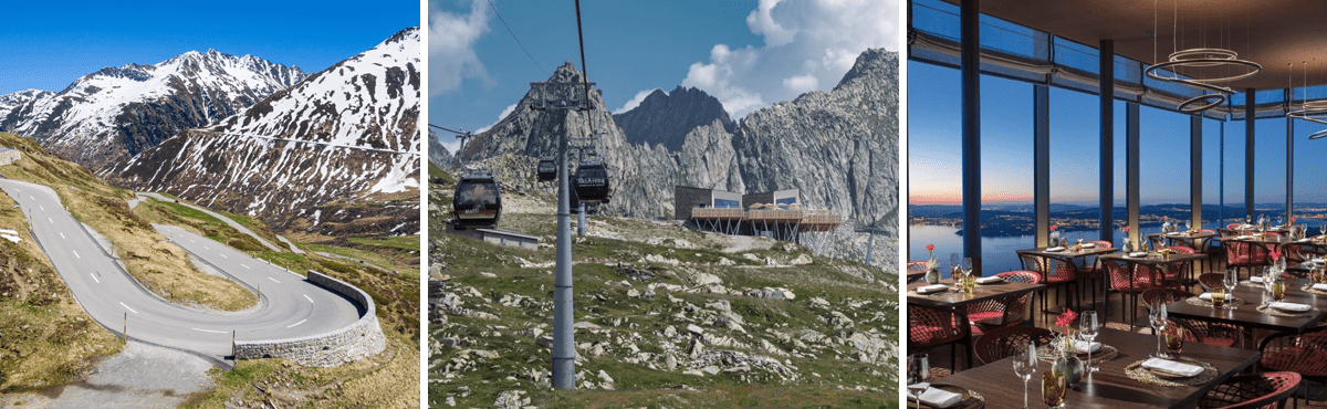 Luxury driving holiday Swiss Alps