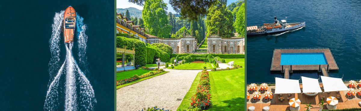 Luxury supercar tour Lake Como