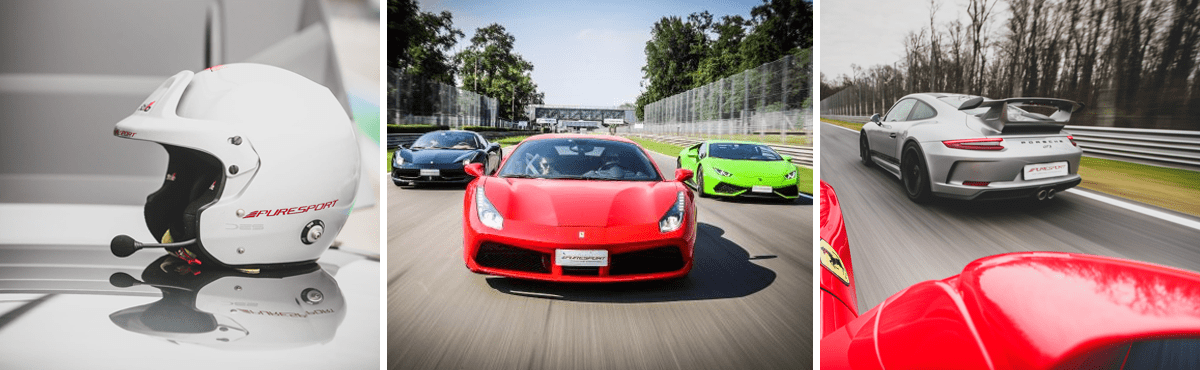 Monza track day supercar experience