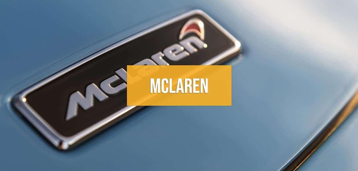 Rent a McLaren in Europe