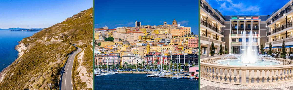 Sardinia supercar tour - Cagliari