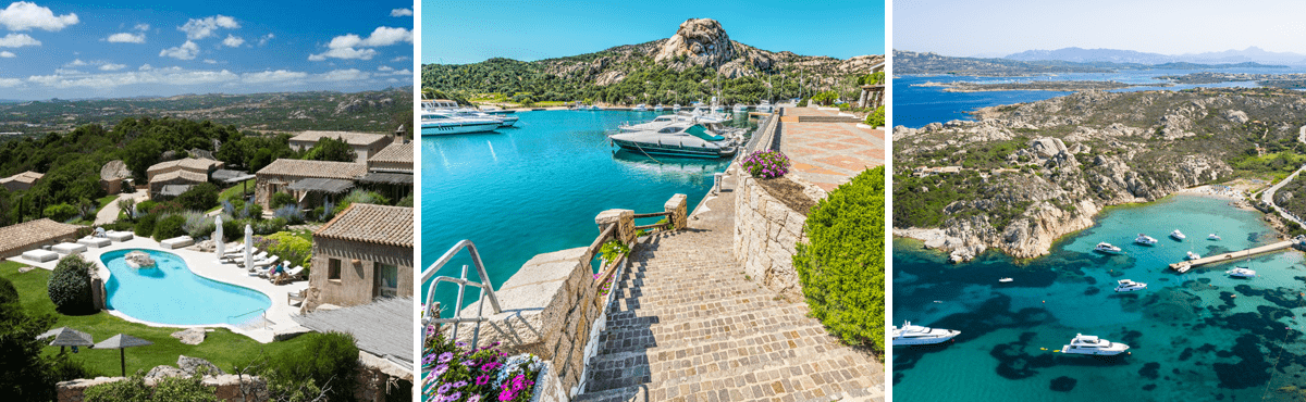 Sardinia supercar tour - Costa Smeralda
