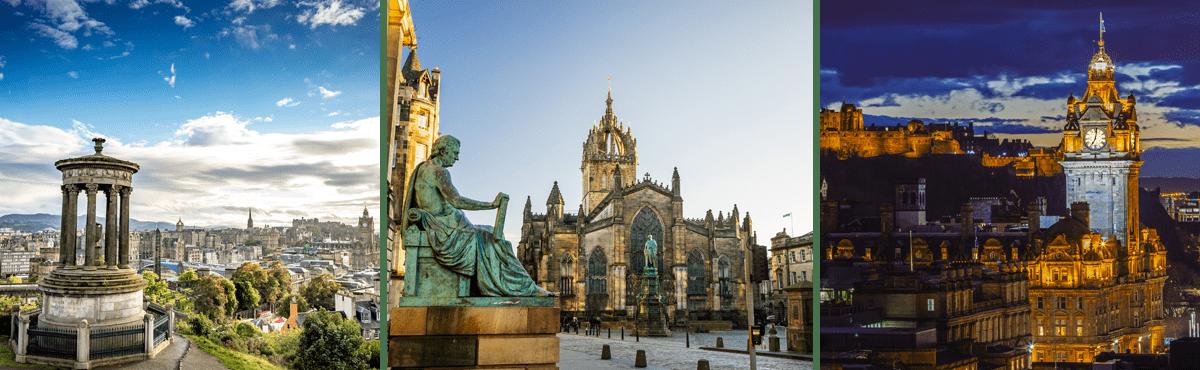 Scotland driving tour - Edinburgh