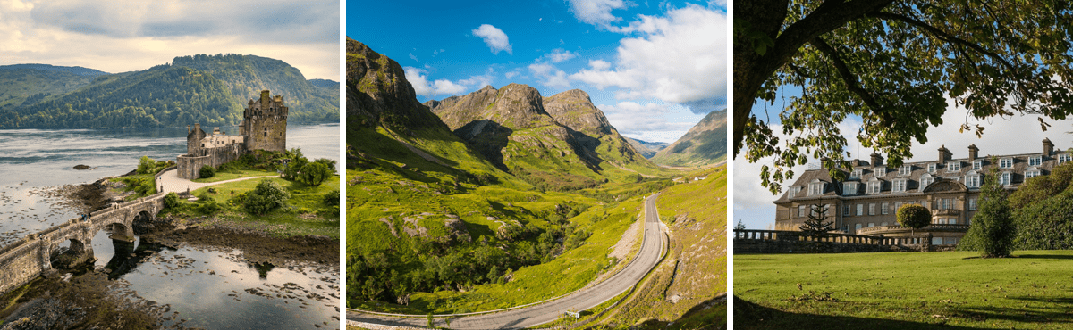 Scotland driving tour - Glencoe supercar tour