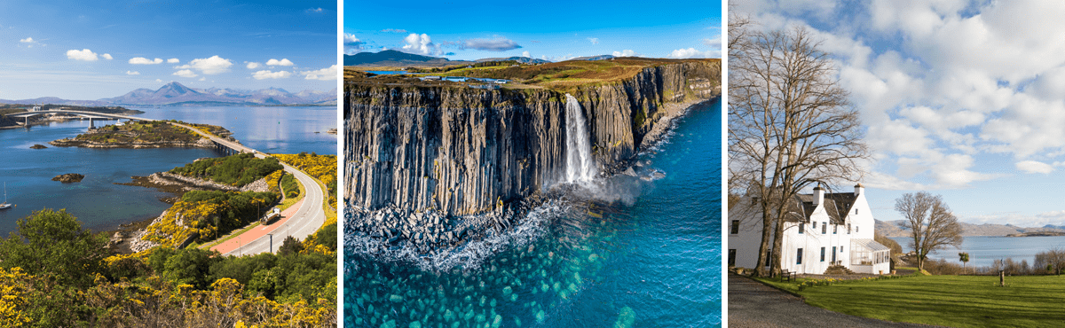 Scotland driving tour Isle of Skye