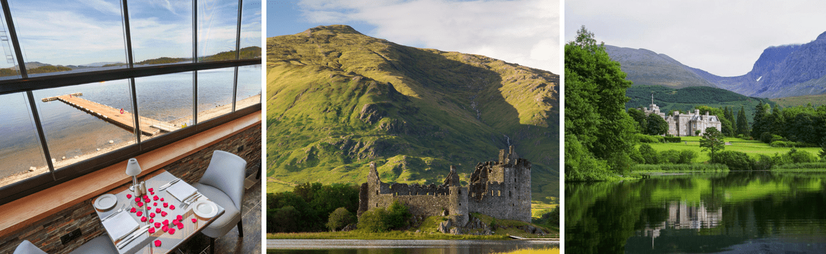 Scotland driving tour vacation