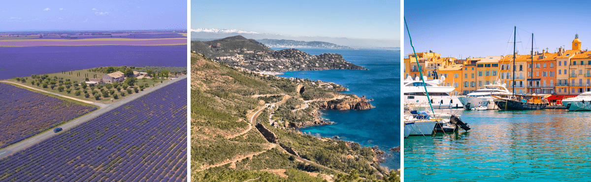 South of France luxury car tour