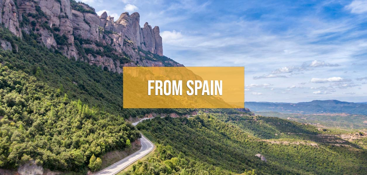 Supercar driving tours from Spain