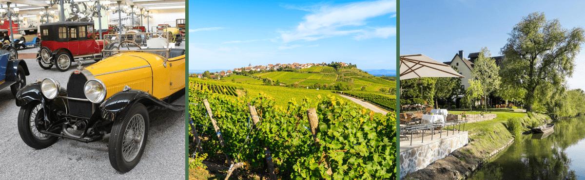 Supercar driving tour - Alsace wine route