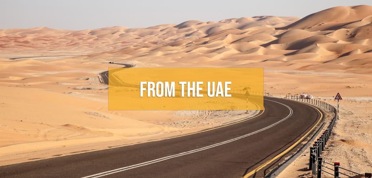 Supercar driving tours from Dubai and Abu Dhabi