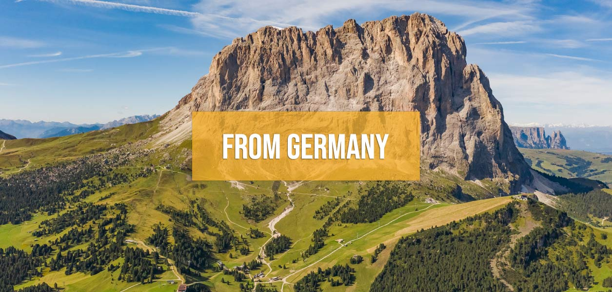 Supercar driving tours from Germany