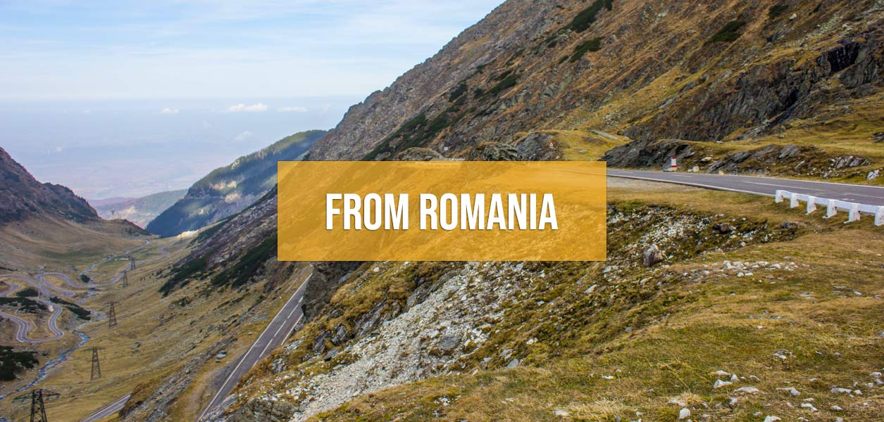 Supercar tours from Romania