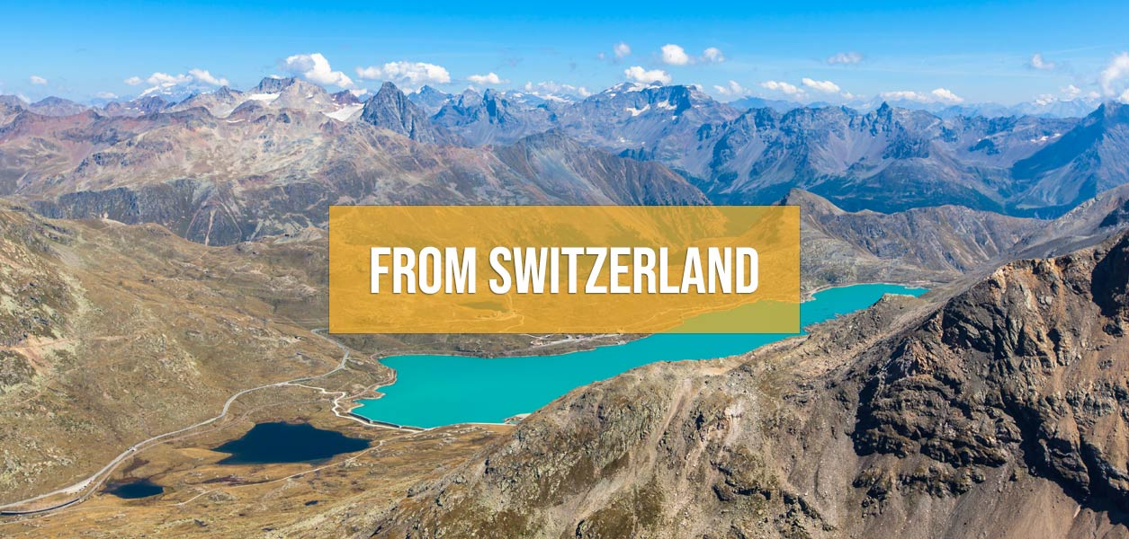 Supercar driving tours from Switzerland