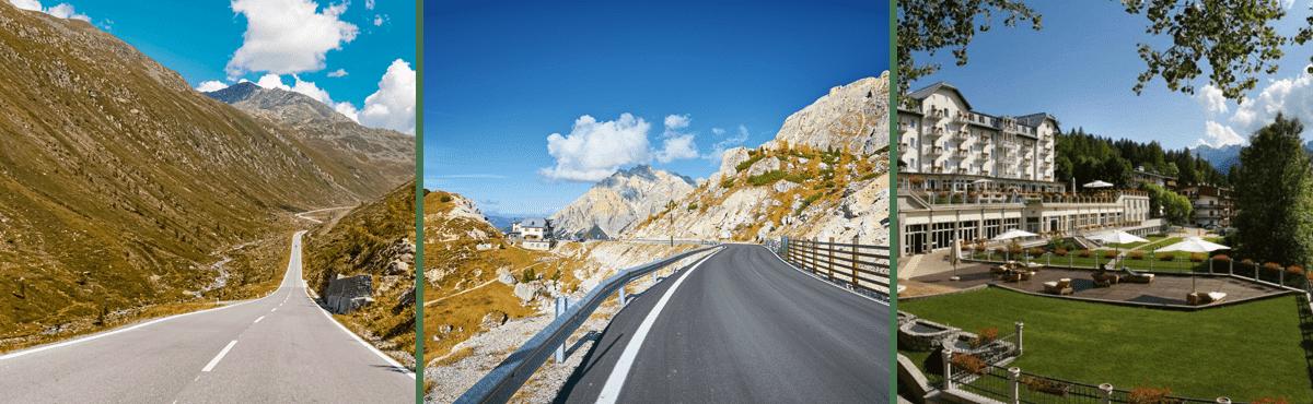 Supercar driving tour Dolomites