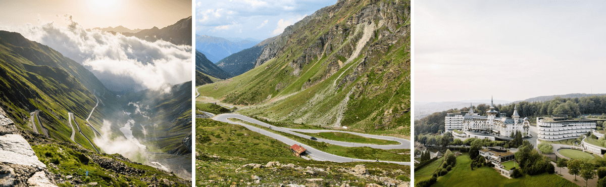 Supercar driving vacation Swiss Alps