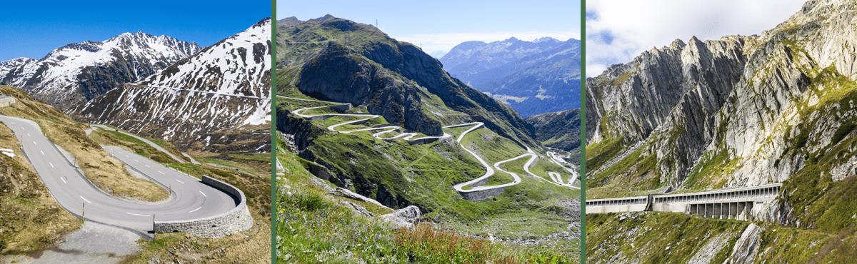 Supercar experience - Gotthard Pass