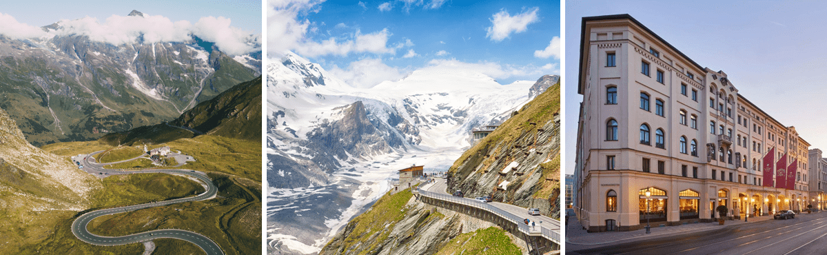Supercar experience Grossglockner High Alpine Road