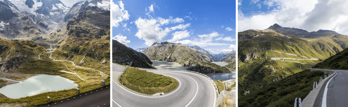 Supercar Experience Swiss Alps - Susten Pass / Grimsel Pass / Furka Pass