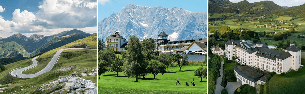 Supercar tour Austria