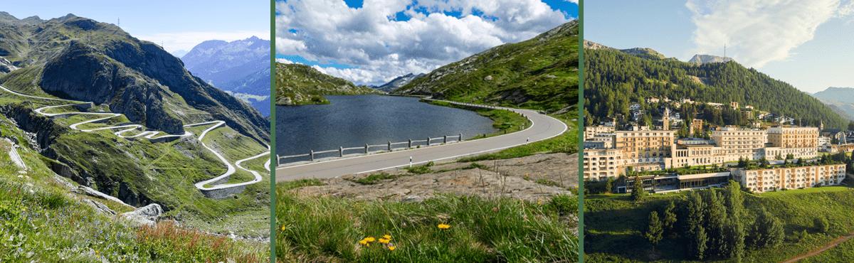 Supercar tour St. Moritz