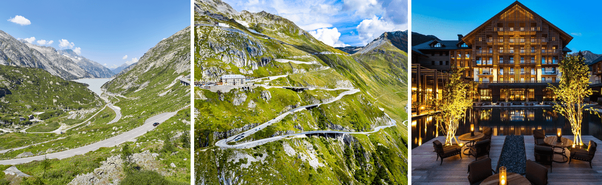 Swiss Alps driving holiday
